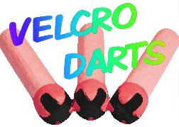 Bumpa's Blowgun Velcro Darts